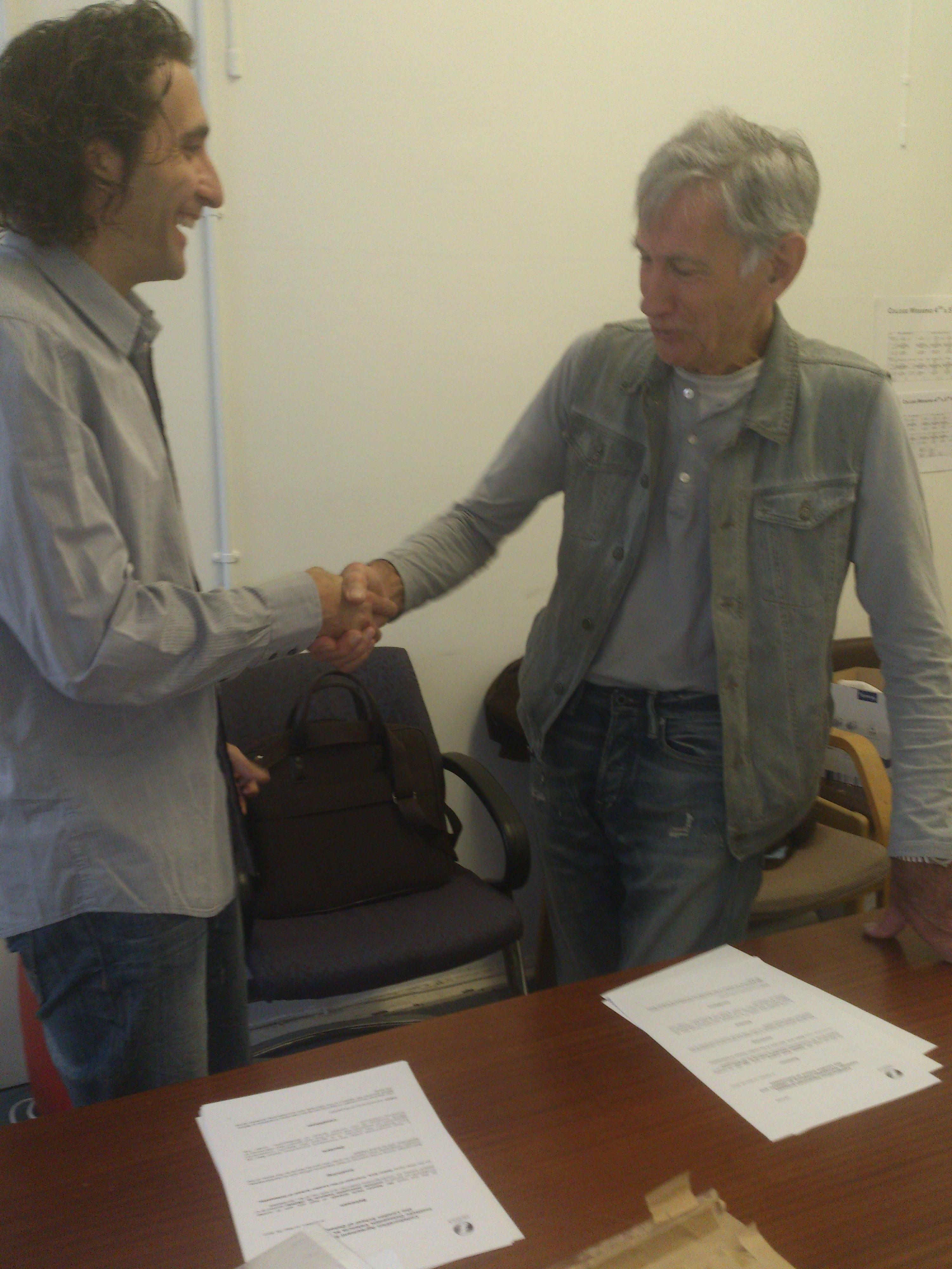 Firma del Convenio para la realización de Prácticas de Osteopatía entre la LSO e INOVA.