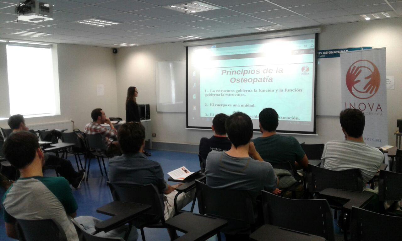 Presentación Máster Osteopatía 2017-2020: Santiago de Chile