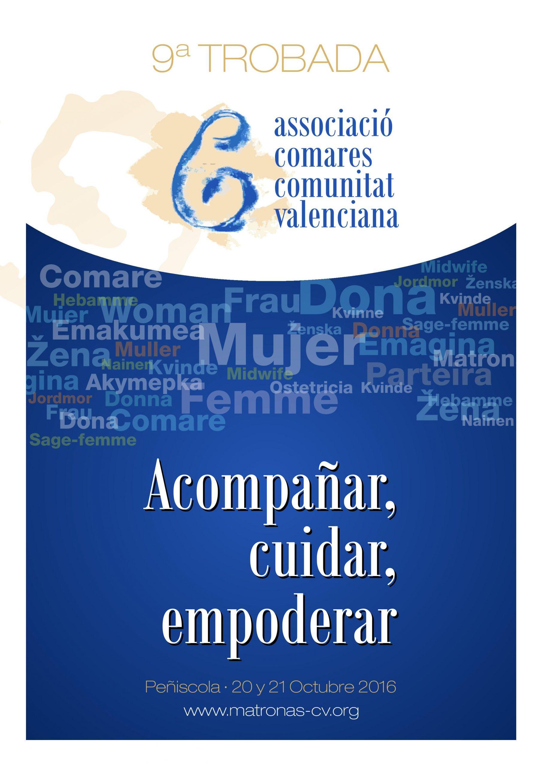 Yolanda Ortiz: participación 9º Jornada de la Asociación de matronas de la Comunidad Valenciana